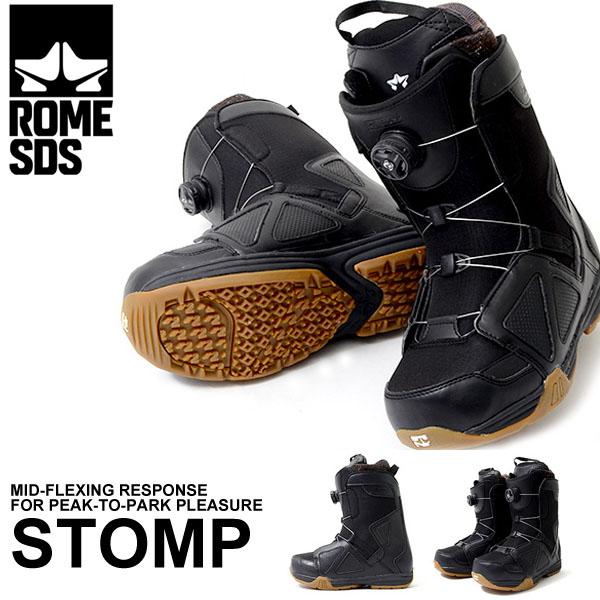 現品限り ラスト1点 送料無料 スノーブーツ ROME SDS ローム STOMP BOA メンズ スノーボード スノボ スノー SNOWBOARD ボアシステム ダイヤル スノーボードブーツ 紳士 国内正規代理店品 得割40