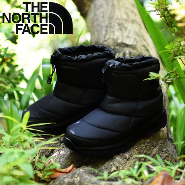 送料無料 軽量 ヌプシ ショート ブーツ ザ・ノースフェイス THE NORTH FACE Nuptse Bootie WP VI Short ヌプシ ブーティー ウォータープルーフ 6 ショート メンズ レディース スノトレ ビブラムソール アウトドア スノー シューズ 靴 nf51874 撥水