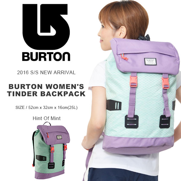 Backpack Burton BURTON L. A. M. B. Women's Tinder Pack 25 l women's backpack bag bag snowboard snowboarding SKI SNOWBOARD SKI trips outdoors by 2015-2016 winter new