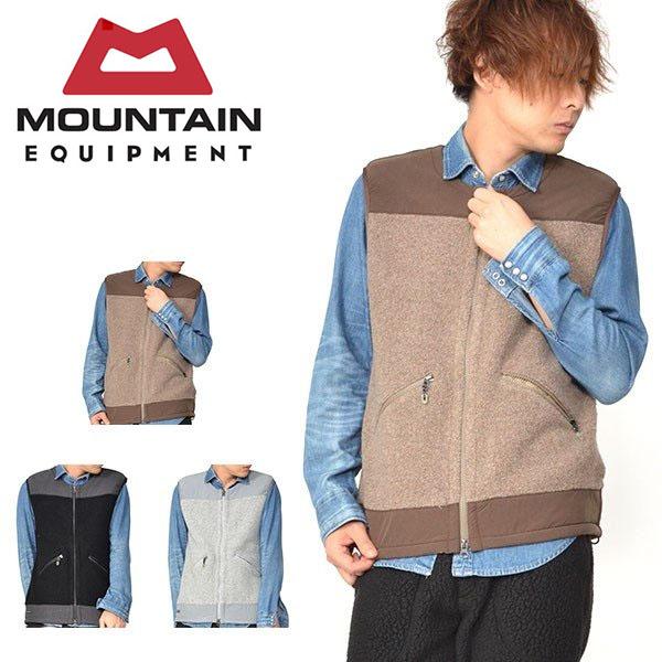 送料無料 日本別注 ウール ボア ベスト Wool Boa Vest マウンテンイクイップメント MOUNTAIN EQUIPMENT メンズ フリース 防寒 アウトドア カジュアル ME 30%off