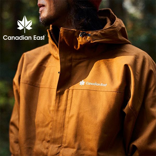 送料無料 難燃 ナンネン ジャケット カナディアンイースト Cnadian East メンズ 焚き火 ウインドジャケット 登山 トレッキング ハイキング アウトドア キャンプ