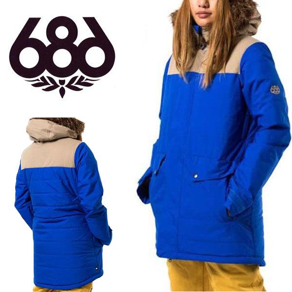 送料無料 スノーボードウェア 686 SIX EIGHT SIX シックスエイトシックス AUTHENTIC RUNWAY JACKET レディース ジャケット スノボ スノーボード スノーウェア 得割35
