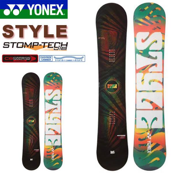 送料無料 YONEX ヨネックス スノーボード STYLE スタイル フリースタイル イージーライド キャンバー 板 スノボ ボード スノボ メンズ 紳士用 スノー 149 得割40