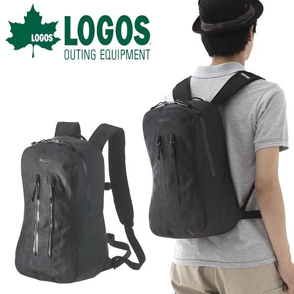 送料無料 ロゴス LOGOS SPLASH mobi ザック14 ブラックカモ メンズ 17L 防水 超軽量 コンパクト バックパック リュックサック リュック ザック バッグ アウトドア 通勤 通学