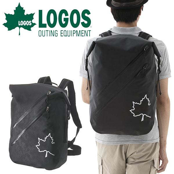 送料無料 ロゴス LOGOS SPLASH mobi ダッフルリュック ブラックカモ メンズ 30L 大容量 防水 超軽量 バックパック リュックサック リュック ザック バッグ アウトドア