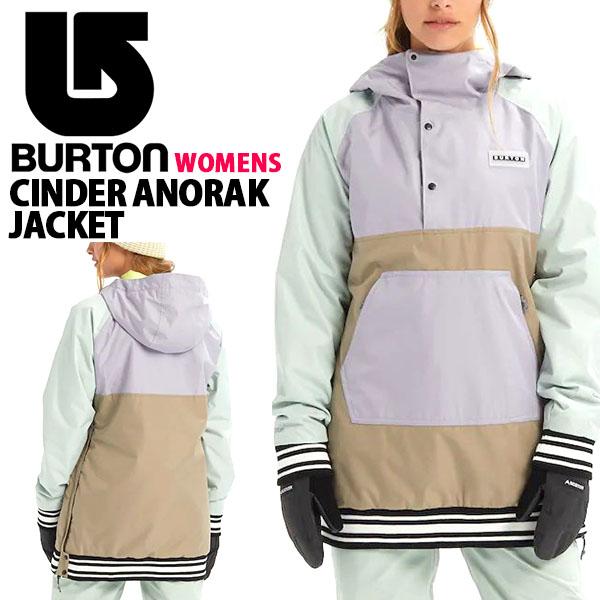 送料無料 スノーボードウェア バートン BURTON Women's Cinder Anorak Jacket レディース ジャケット スノボ スノーボード スノーボードウエア SNOWBOARD WEAR 2019-2020冬新作 19-20 19/20 20%off