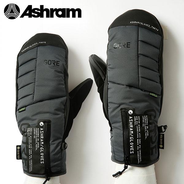 送料無料 スノーボード グローブ Ashram アシュラム 手袋 ミトン スノボ ARMA アルマ ゴアテックス GORE-TEX メンズ レディース 20%off