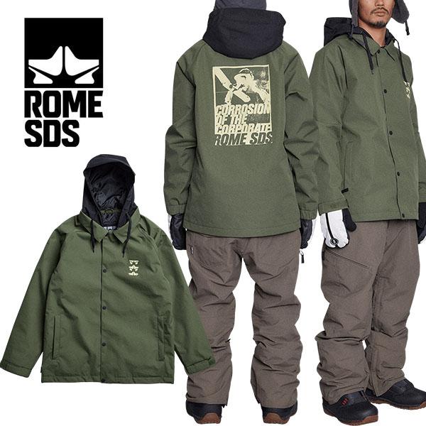 送料無料 スノーボードウェア ROME SDS ローム DRIFTER JACKET ドリフタージャケット ベージュ 肌色 メンズ ジャケット スノボ スノーボード スノーウェア シャツ コーチ 20%off
