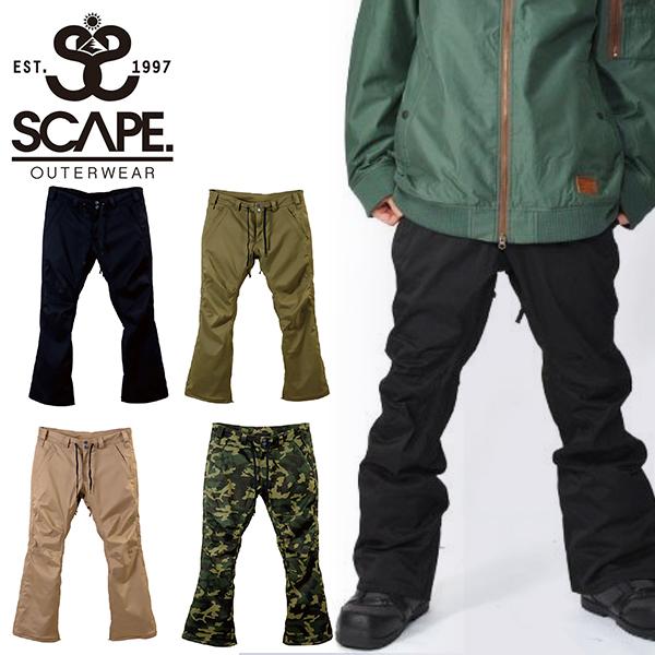 30%off 送料無料 スノーボードウェア SCAPE エスケープ RAID PANTS メンズ パンツ スノボ スノーボード スノーウェア ボトムス