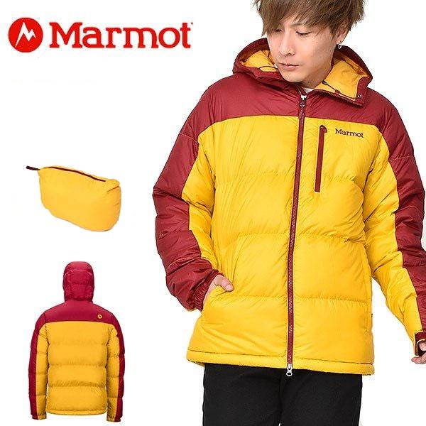 送料無料 ポケッタブル ダウン ジャケット Marmot マーモット Guides Down Hoody ガイズダウンフーディー USAモデル メンズ アウトドア キャンプ 25%off