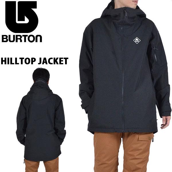 送料無料 スノーボードウェア バートン BURTON HILLTOP JACKET メンズ ジャケット スノボ スノーボード スノーボードウエア SNOWBOARD WEAR 20%off