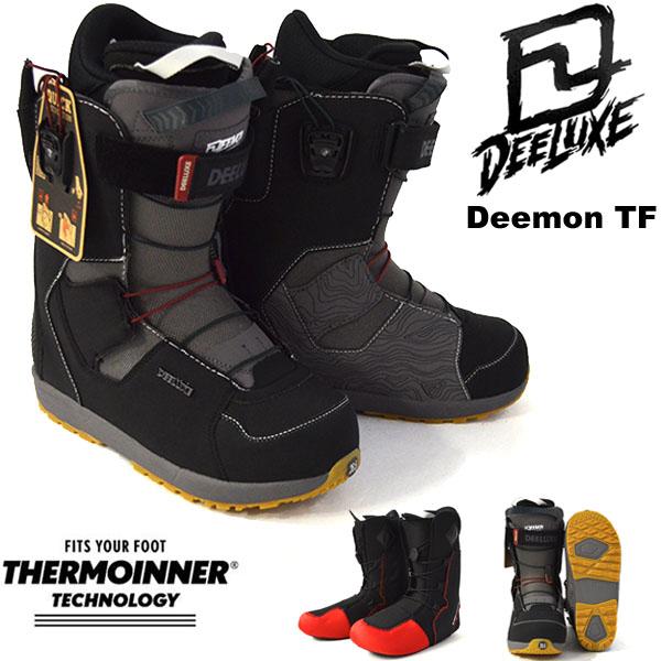 送料無料 ディーラックス DEELUXE スノーボード ブーツ DEEMON TF デーモン ディーモン メンズ スノボ TF サーモインナー SNOWBOARD 成型 熟成 18/19 25%off