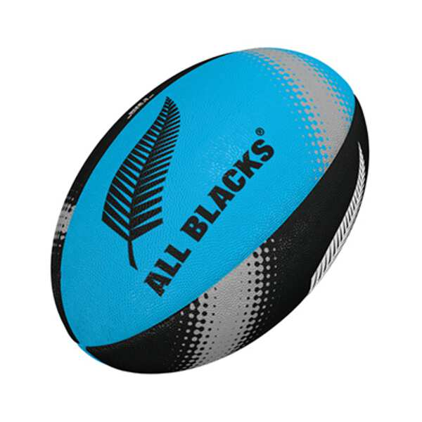 ギルバート オールブラックス 格安激安 サポーターボール 3号 スカイ×ブラック #GB-9367 割引クーポン有 ラグビー GILBERT アウトドア ボール 贈物 スポーツ ギルバート: