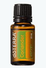 【ドテラ】【doTERRA】【新商品】ドテラ コリアンダー 15 ml アロマオイル エッセンシャルオイル 精油 aroma ハーブ系 スパイシーであまいハーブの官能的な香り。便可 outfit