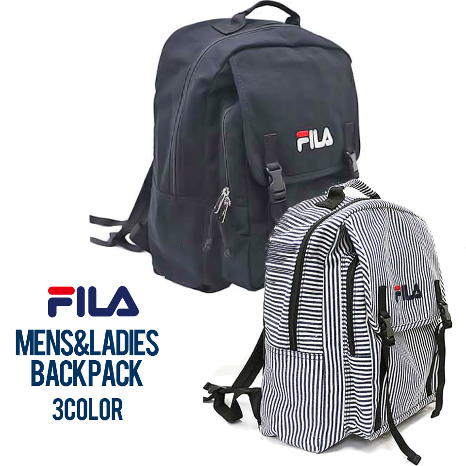 2a775efe9a69 Outfit Style  FILA Fila rucksack large-capacity stylish square side ...