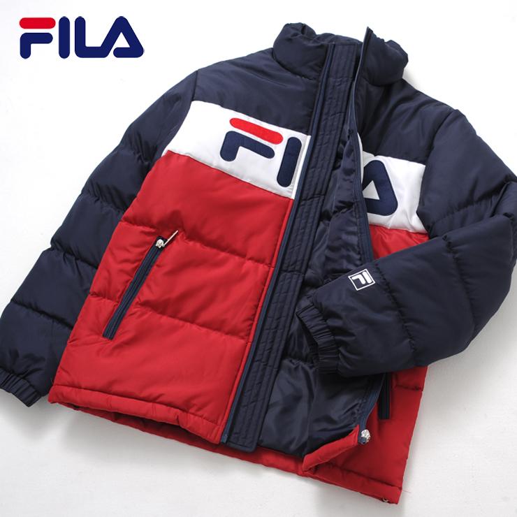 ポイント10倍 FILA フィラ メンズ 中綿スタンドジャケット