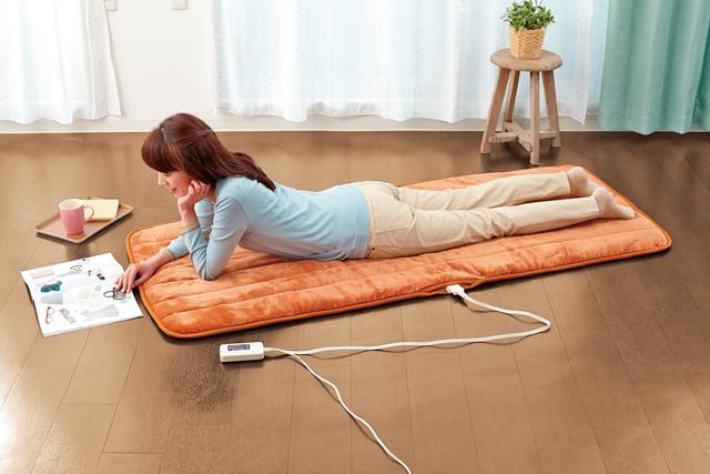 【冬物処分】電気毛布 電気であったか ごろ寝マット 電気敷き毛布
