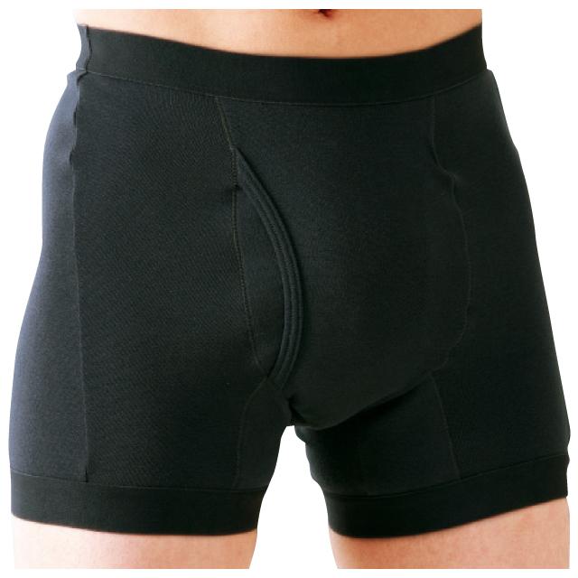 失禁パンツ 失禁ショーツ 介護用ショーツ 男性用 トランクス タイプ サイドシークレット 同色3枚組 同サイズ