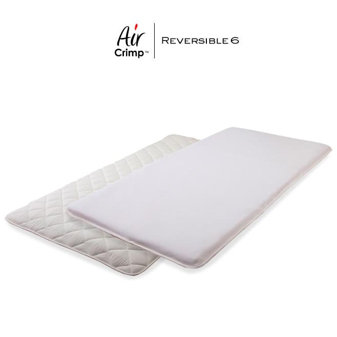 洗える高反発マットレス シングル Air Crimp エアクリンプ 高反発 マットレス 敷布団 リバーシブルタイプ 6cm厚 日本製 代金引換不可