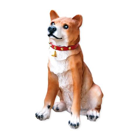 犬の置物 エクステリア センサー式 お出迎えワンワン ビッグリキ