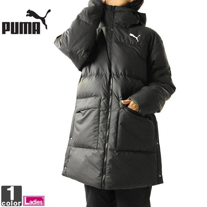 ■PUMAのダウンコート 上着 アウター 日本未発売 ダウンジャケット プーマ PUMA レディース 580974 ダウンコート フード 送料無 フルジップ 即出荷 1911 ジャケット 防寒コート 防寒 パーカー