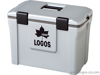 LOGOS (ロゴス) アクションクーラー25(グレー) 81448013 1602 【※数量1の注文で4点になります】 アウトドア キャンプ 用品 アクセサリー ツール