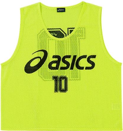 《送料無料》asics (アシックス) ビプス(10枚セット) XSG060 16 1610 メンズ レディース サッカー フットサル アクセサリー ビブス