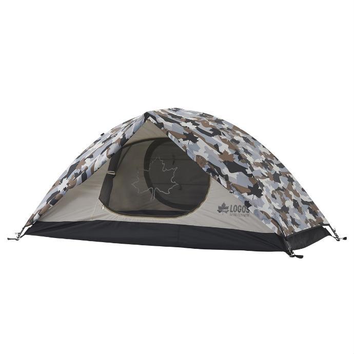 《送料無料》LOGOS (ロゴス) SOLOドーム(カモフラ) 71806007 1702 アウトドア キャンプ 用品 テント