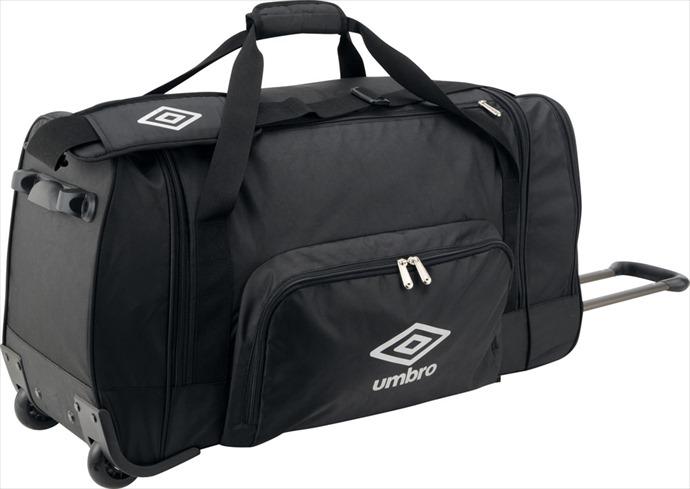 全品ポイント4倍!《送料無料》umbro (アンブロ) ホイールキャリー BLK UJS1739 1704 メンズ レディース サッカー フットサル バッグ