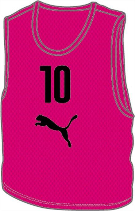 《送料無料》PUMA (プーマ) ビブスセット(10マイグミ) 920604 05 1707 サッカー ゲームシャツ