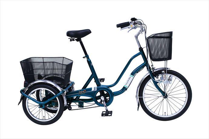《送料無料》スイングチャーリー【SWING CHARLIE】 SWING CHARLIE2 三輪自転車E MG-TRW20E 1710 【メンズ】【レディース】 フロント20 リア16