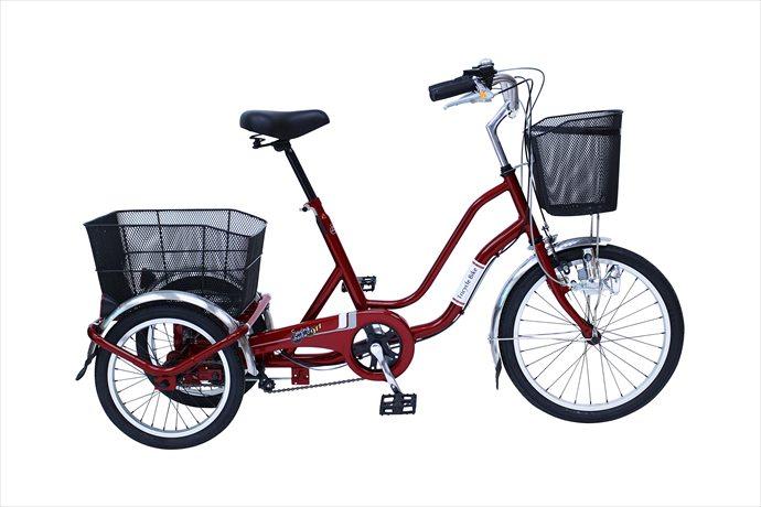 《送料無料》スイングチャーリー【SWING CHARLIE】 SWING CHARLIE911 ノーパンク三輪自転車E MG-TRW20NE 1710 【メンズ】【レディース】 フロント20 リア16