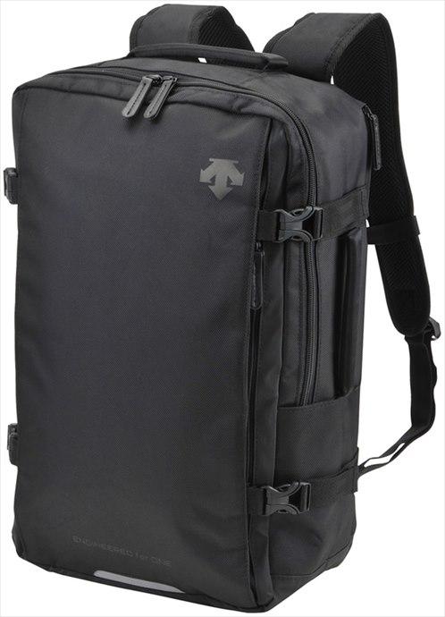 全品ポイント4倍!《送料無料》DESCENTE (デサント) ファンクショナルスクエアバックパック DMALJA00 BK 1801 スポーツ バッグ