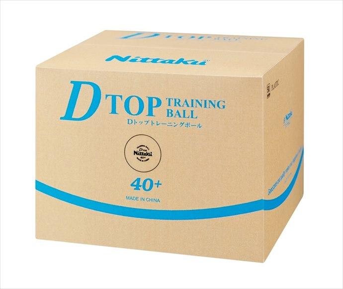 《送料無料》Nittaku (ニッタク) 日本卓球 Dトップトレ球 50ダース入 NB-1521 1801 卓球 ボール