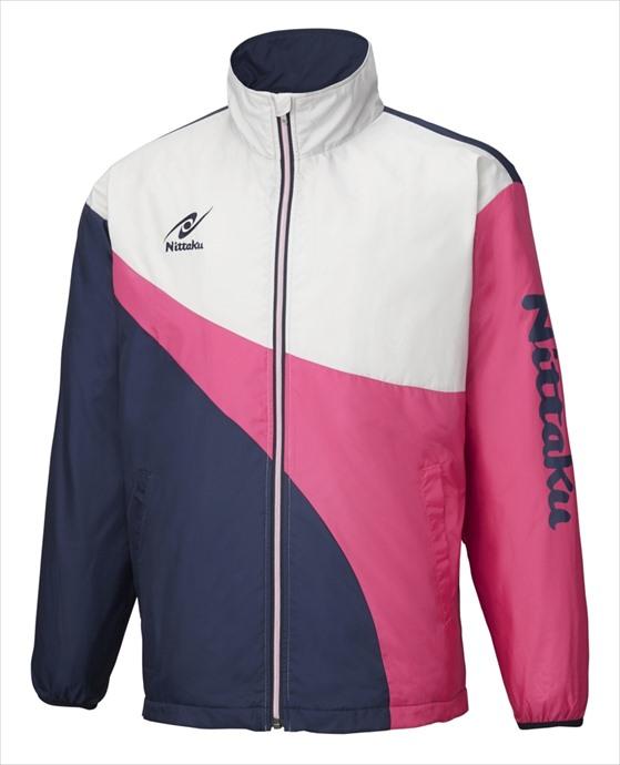 Nittaku (ニッタク) 日本卓球 ライトウォーマーSPRシャツ ピンク NW-2848 1801 メンズ 紳士 男性