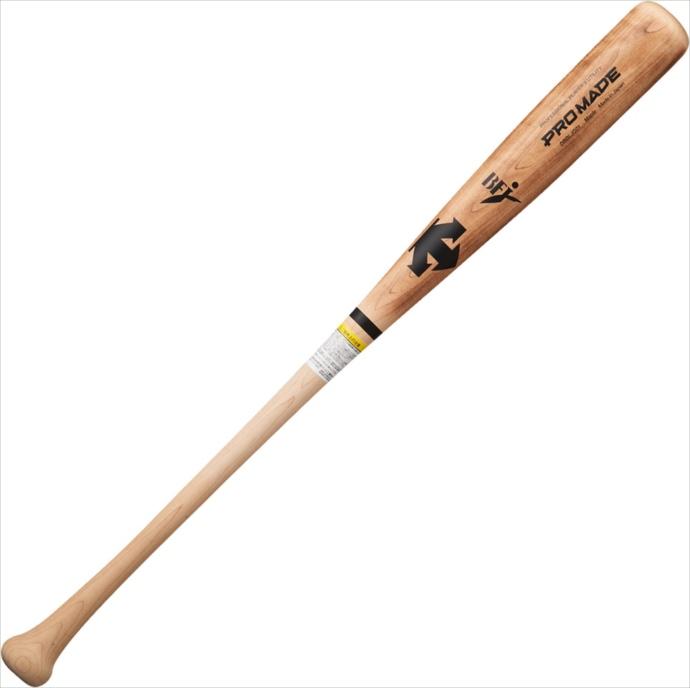 全品ポイント4倍!《送料無料》DESCENTE (デサント) 硬式木製バット(千葉ロッテ・角中勝也選手モデル) DBBLJG01 NTU 1801 野球 ソフト バット