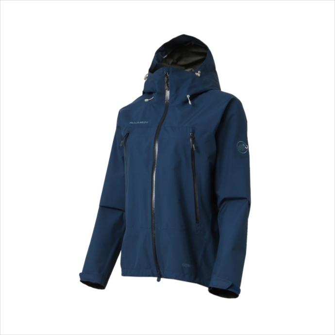 《送料無料》MAMMUT (マムート) CLIMATE Rain-Suits Women orion-black 1010-26560 1803 レディース ウィメンズ 婦人 ジャケット アウトドア