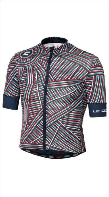 le coq sportif (ルコック スポルティフ) ラインアートSSジャージ NVY QCMLGA42 1805 メンズ サイクリング ウェア