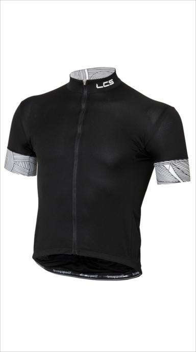 クーポンで100円OFF!le coq sportif (ルコック スポルティフ) ラインアートSSジャージ BLK QCMLGA43 1805 メンズ サイクリング ウェア