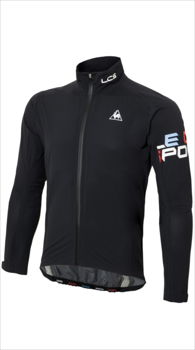 《送料無料》le coq sportif (ルコック スポルティフ) ライトシェルジャケット BLK QCMLGC22 1805 メンズ サイクリング ウェア