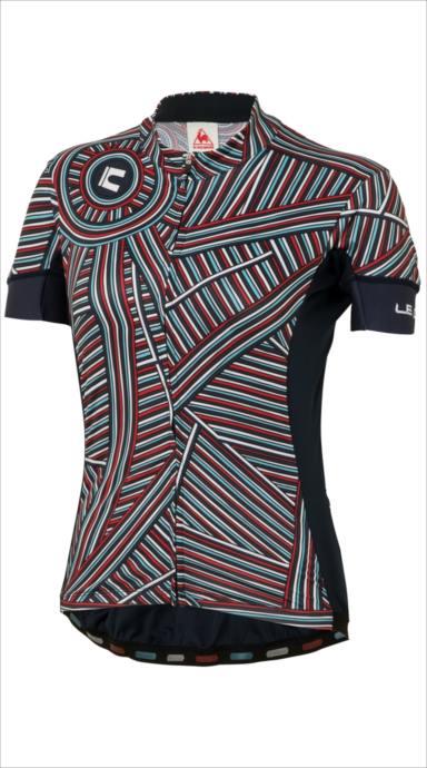 クーポンで100円OFF!le coq sportif (ルコック スポルティフ) ラインアートジャージ NVY QCWLGA42 1805 レディース サイクリング ウェア