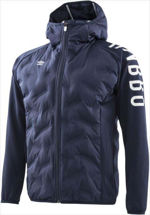 《送料無料》umbro (アンブロ) URA. ハイブリッドインシュレーションジャケット NVY UMUMJK35 1808 サッカー ウインドウェア