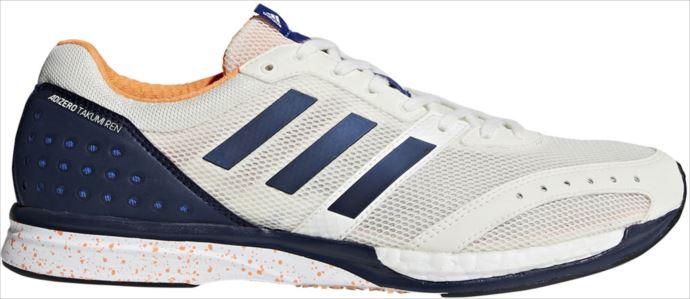 《送料無料》adidas (アディダス) メンズ ランニングシューズ アディゼロ匠 錬 ブースト3 ワイド CM8241 1808 メンズ 陸上 シューズ