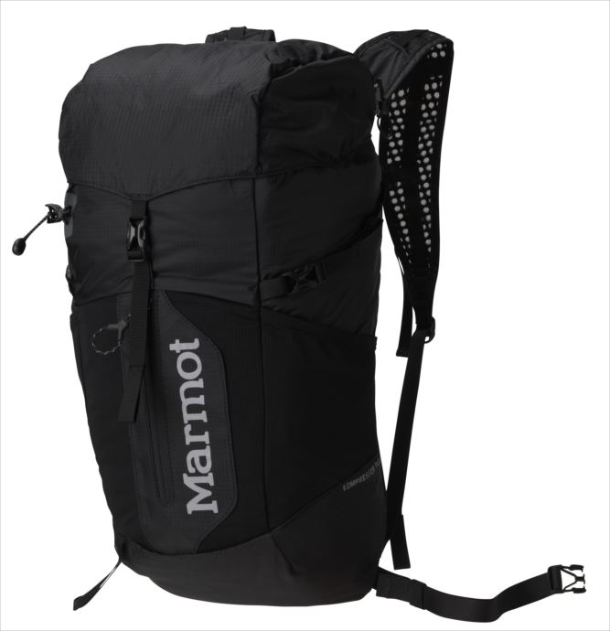 《送料無料》Marmot (マーモット) コンプレッサープラス20 ブラック M5B-S2494A 1809 バッグ バックパック