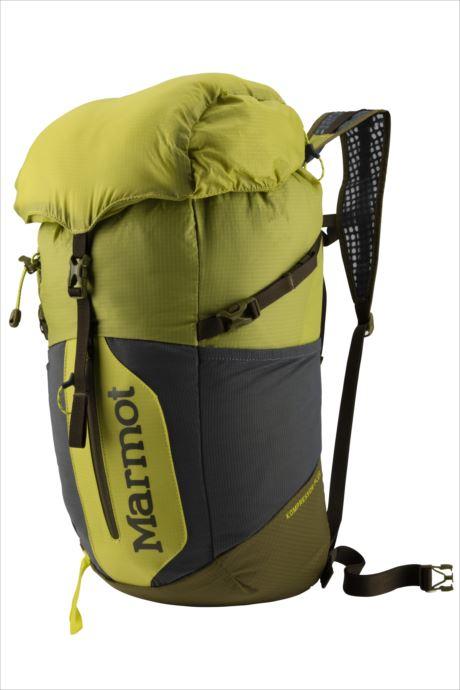 《送料無料》Marmot (マーモット) コンプレッサープラス20 シトローネル×オリーブ M5B-S2494A 1809 バッグ バックパック