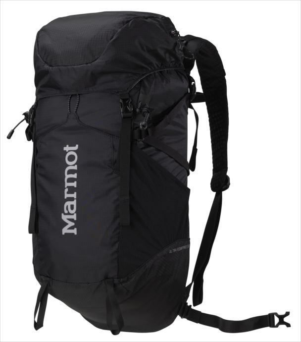 《送料無料》Marmot (マーモット) ウルトラコンプレッサー22 ブラック M5B-S2496A 1809 バッグ バックパック