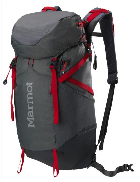 《送料無料》Marmot (マーモット) ウルトラコンプレッサー22 シンダー×チームレッド M5B-S2496A 1809 バッグ バックパック