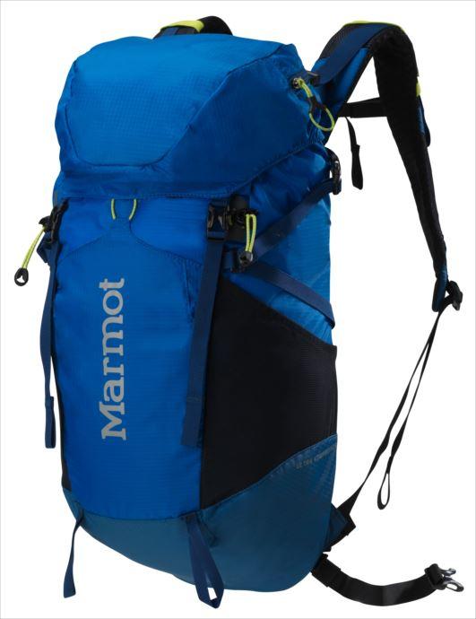 《送料無料》Marmot (マーモット) ウルトラコンプレッサー22 ピークブルー×Dサファイア M5B-S2496A 1809 バッグ バックパック