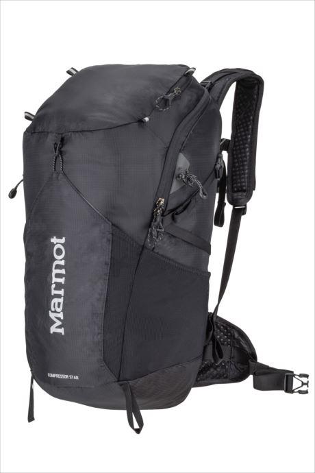《送料無料》Marmot (マーモット) コンプレッサースター28 ブラック M6B-S2474 1809 バッグ バックパック