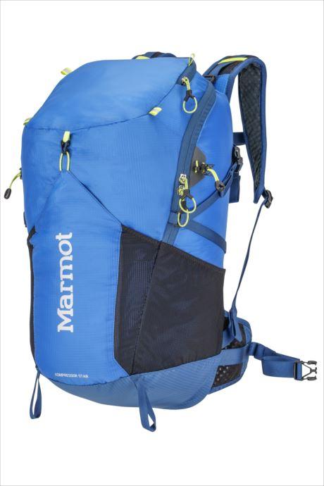 《送料無料》Marmot (マーモット) コンプレッサースター28 ピークブルー×ダークサファイア M6B-S2474 1809 バッグ バックパック